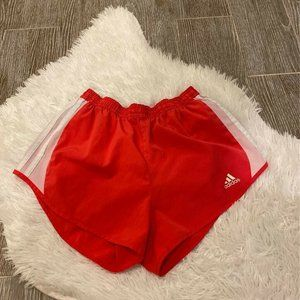 Adidas Womens Active Shorts Pink White Size XS
